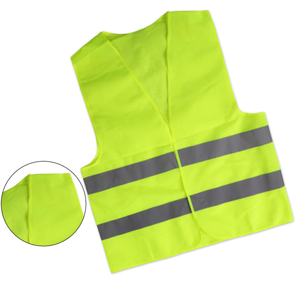 Unisex Hi Vis Night Work Construction Safety Vest