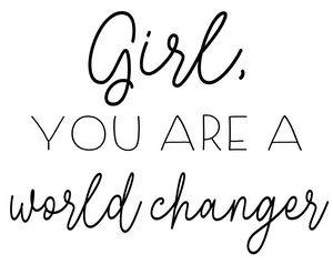 World Changer Girl - Digital Download