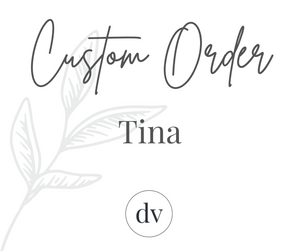 Custom Sign for Tina