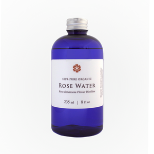 ROSE WATER 100%   --Rose Hydrosol Refill 8oz  --