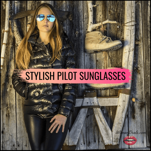 STYLISH PILOT SUNGLASSES