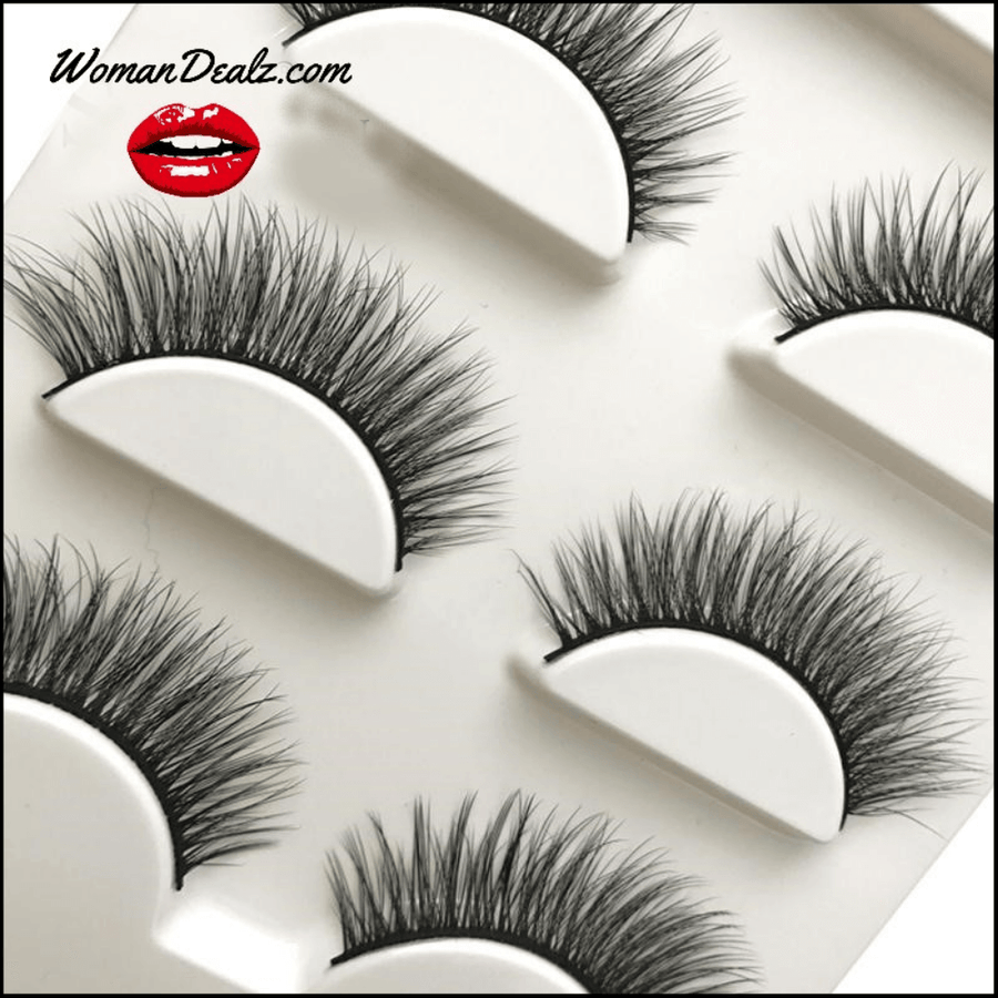 3D False Eyelashes Set