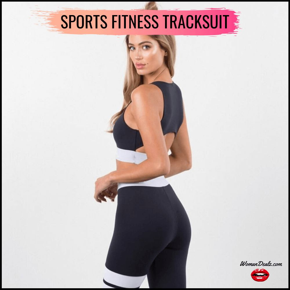 Sports Fitness Tracksuit - Yoga Set
