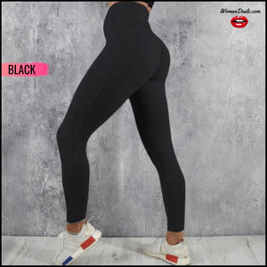 High Elastic Yoga Pants With Pocket