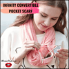 Infinity Convertible Pocket Scarf