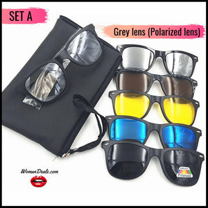 Magneto 5 in 1 Magnetic Shades