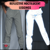 Womandealz Reflective Noctilucent Leggings