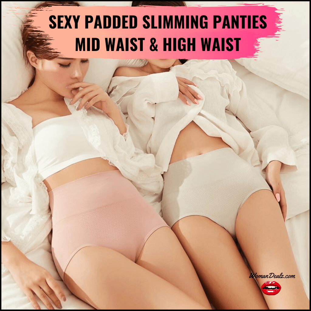 Sexy Padded Slimming Panties - High Waist & Mid Waist