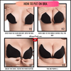 Strapless Silicone Push Up - Invisible Bra - Self Adhesive