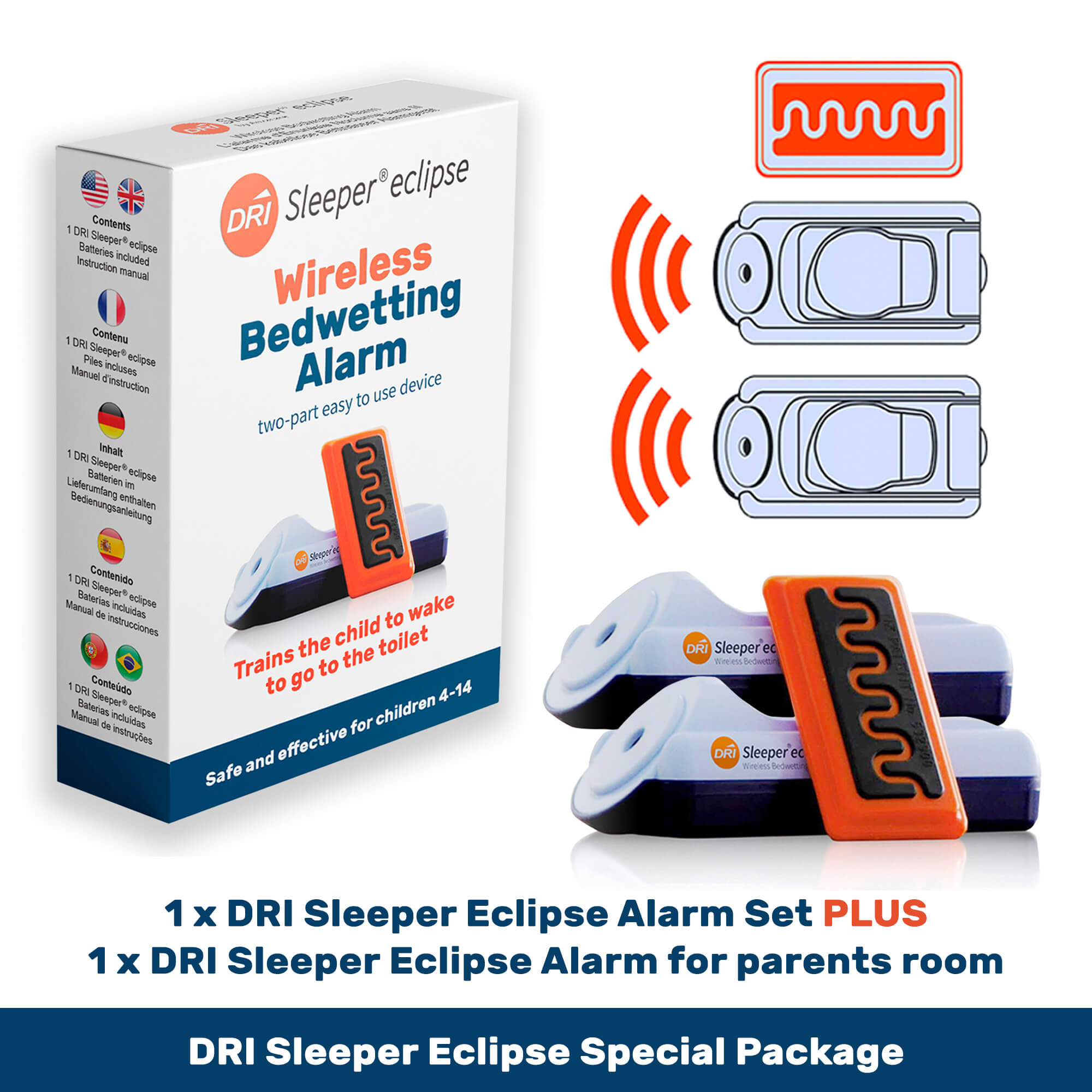 Eclipse Special Package with Parental Monitor