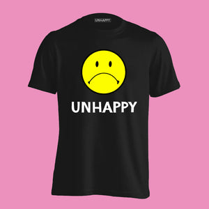 Unhappy Logo Tee + HARVERD DROPOUT CD