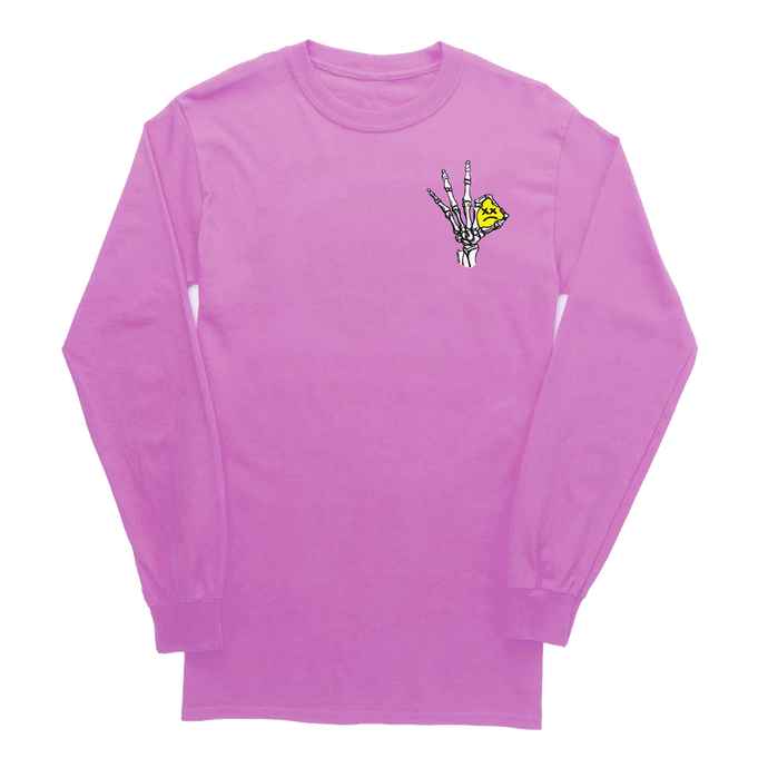 PINK LONG SLEEVE - 'A OK'