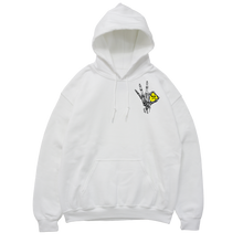 Load image into Gallery viewer, WHITE HOODIE - 'A OK'