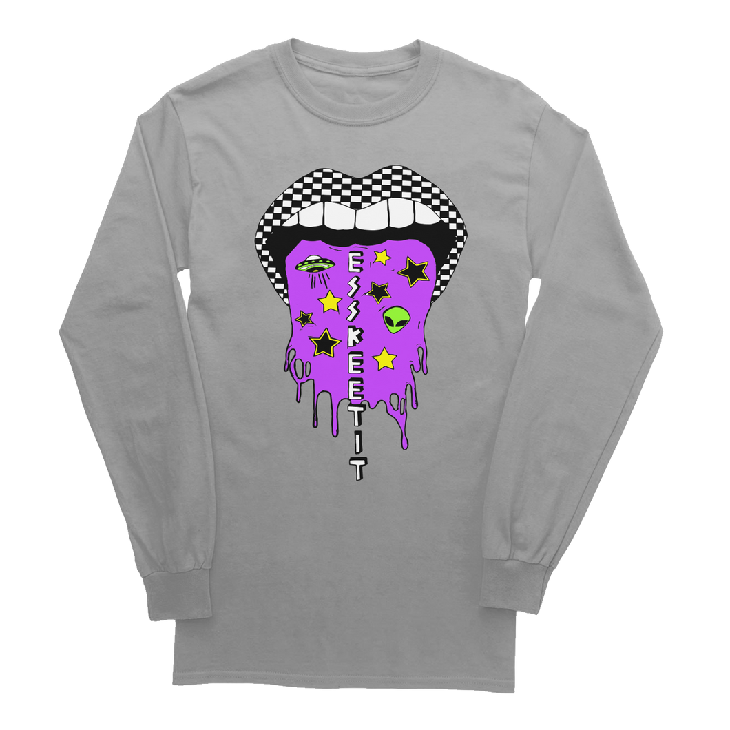 GREY LONG SLEEVE - 'Esskeetit'