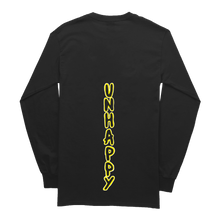 Load image into Gallery viewer, BLACK LONG SLEEVE - 'Shredded Smile'
