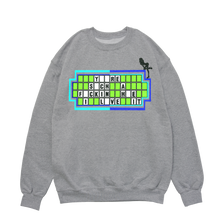 "Load image into Gallery viewer, GREY CREWNECK - ""I Love It"" Grey Crew"