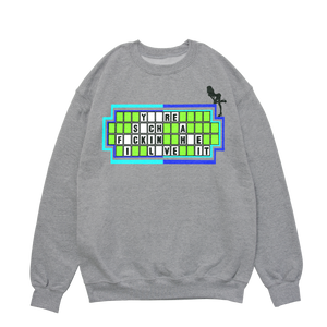 "GREY CREWNECK - ""I Love It"" Grey Crew"