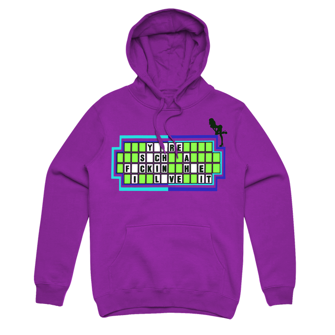 PURPLE HOODIE 'I Love It'