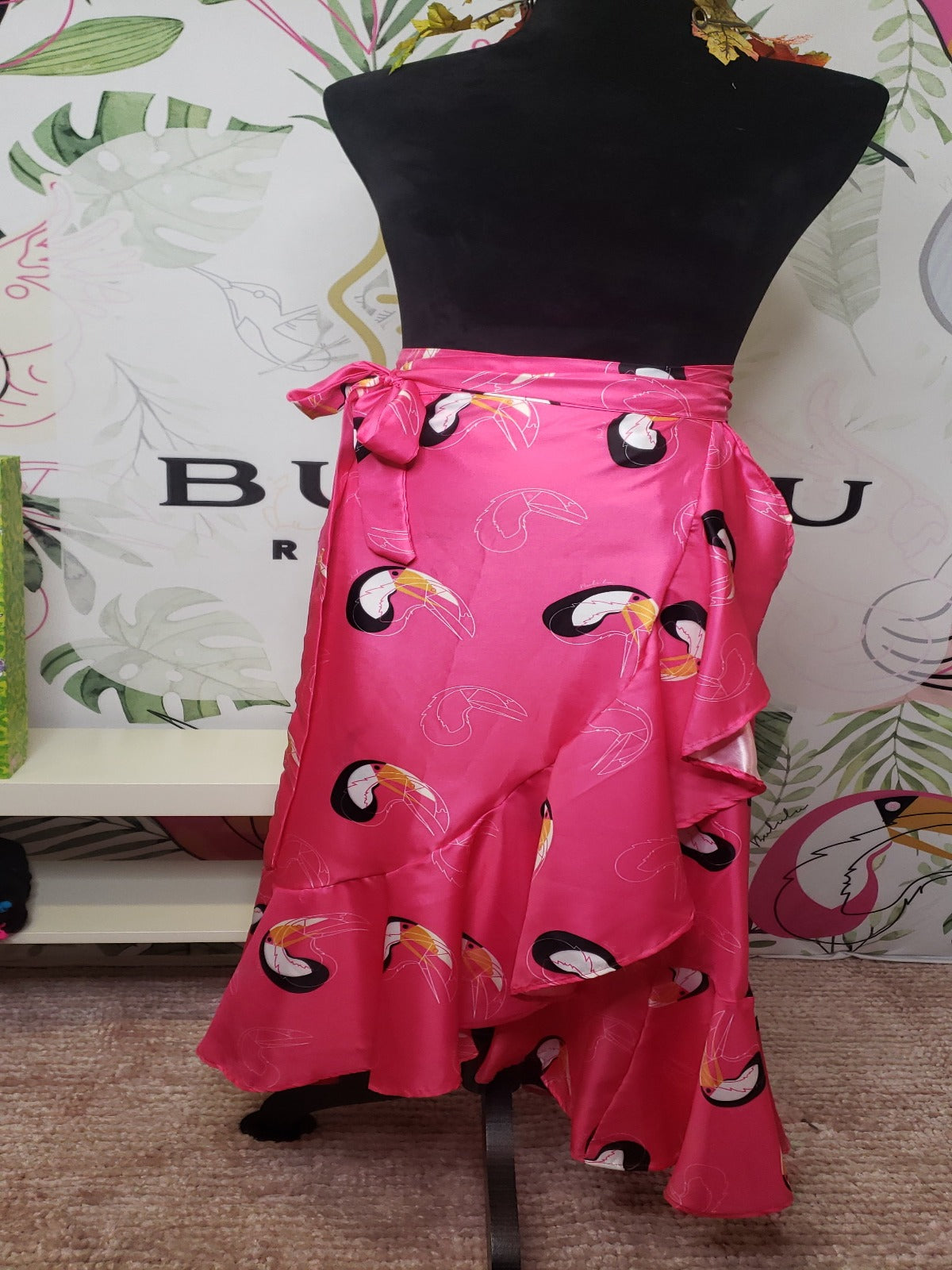 Tucan Wrap Skirt