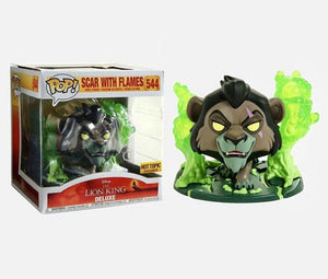 Scar With Flames (Hot Topic Ex.) 544