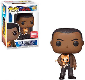 Nick Fury With Goose The Cat (Marvel Collector Corps) 447