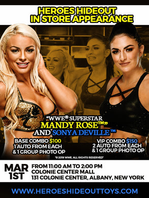 Mandy Rose and Sonya Deville Meet & Greet