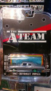 The A Team 1967 Chevrolet Impala (Green Machine)