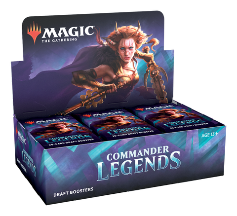 Magic The Gathering Legends Booster