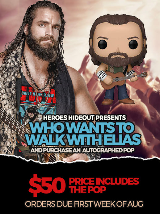 Elias Autograph Pop (Pre Order) August 2019