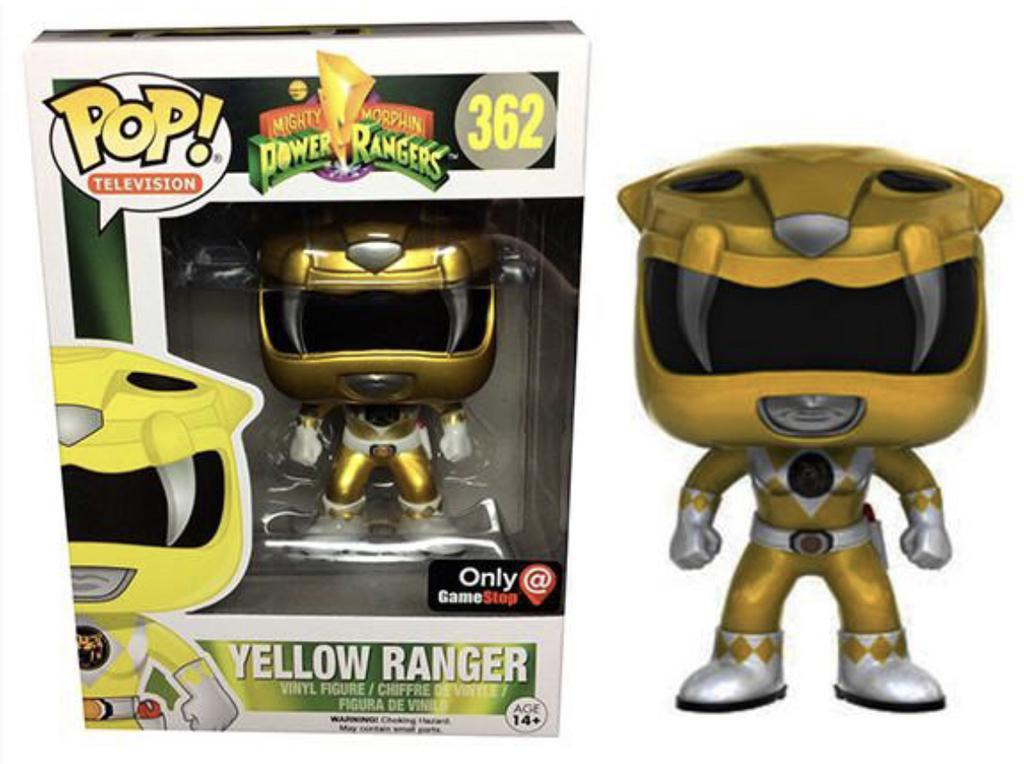 Yellow Ranger (Gamestop Ex.) 362