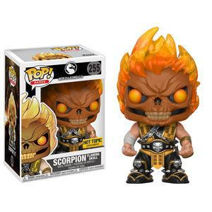 Scorpion Flaming Skull (Hot Topic Ex.) 255