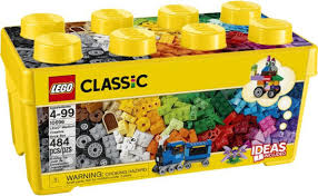 4+ Classic Medium Creative Brick Box