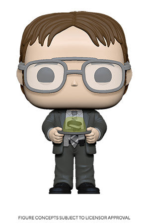 Pop! TV: The Office S2 - Dwight w/ Gelatin Stapler
