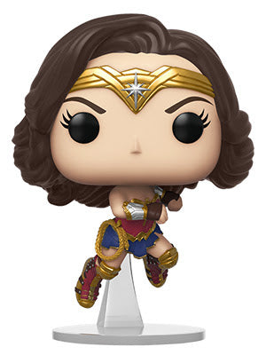WW 1984 - Wonder Woman Flying (Metallic) 322