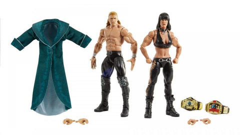 Triple H and Chyna 2 Pack Elite (Pre Order)