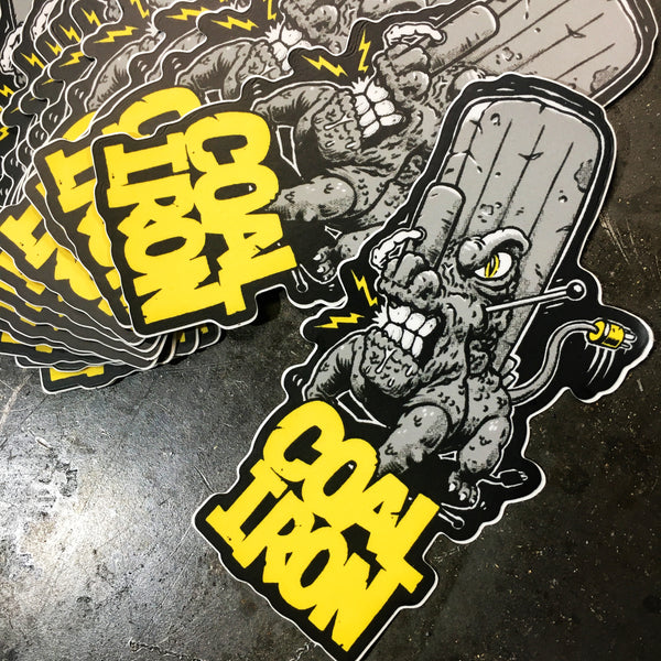 Coal Iron MONSTER Stickers