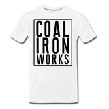Men's Premium CIW Logo T-Shirt - white
