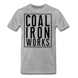 Men's Premium CIW Logo T-Shirt - heather gray