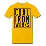 Men's Premium CIW Logo T-Shirt - sun yellow
