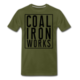 Men's Premium CIW Logo T-Shirt - olive green