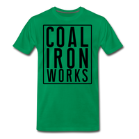 Men's Premium CIW Logo T-Shirt - kelly green