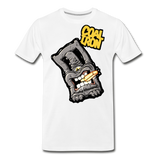 Men's Premium MONSTER 12-Ton T-Shirt - white