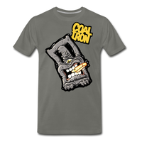 Men's Premium MONSTER 12-Ton T-Shirt - asphalt gray