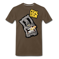 Men's Premium MONSTER 12-Ton T-Shirt - noble brown