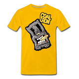 Men's Premium MONSTER 12-Ton T-Shirt - sun yellow