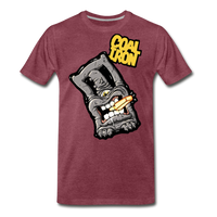 Men's Premium MONSTER 12-Ton T-Shirt - heather burgundy