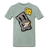 Men's Premium MONSTER 12-Ton T-Shirt - steel green