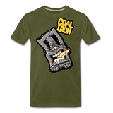 Men's Premium MONSTER 12-Ton T-Shirt - olive green
