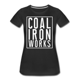 Women's Premium CIW White Logo T-Shirt - black