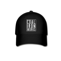 Coal Iron Works Baseball Cap - black